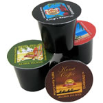 100% Kona Coffee, Kona Hawaiian Blends, and Organic Rain Forest Alliance K-cups from Aloha Island Coffee