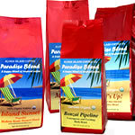 Certified Organic Rain Forest Alliance Fair Trade Coffee from Aloha Island Coffee