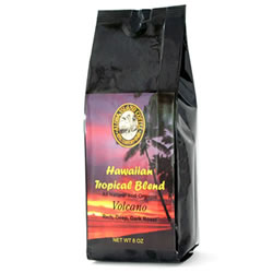Volcano Dark Roast Hawaiian Blend Coffee from Aloha Island Coffee