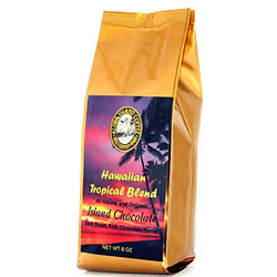 Chocolate Flavored Hawaiian Coffee Blend from Aloha Island Coffee