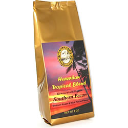 Pecan Flavored Hawaiian Coffee Blend from Aloha Island Coffee