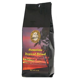 Chocolate Almond Flavored Hawaiian Coffee Blend from Aloha Island Coffee