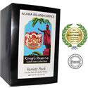 Variety Pack of Kona Smooth Medium and Dark Roast Coffee Pods from Aloha Island Coffee