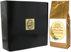 Pumpkin Spice Flavored Harvest Blend Coffee Gift from Aloha Island Coffee