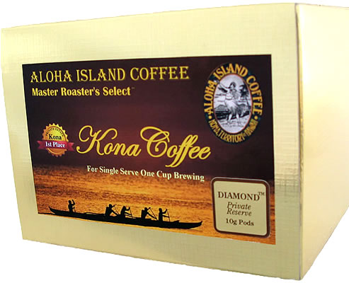 diamond kona coffee pods. Black Bedroom Furniture Sets. Home Design Ideas