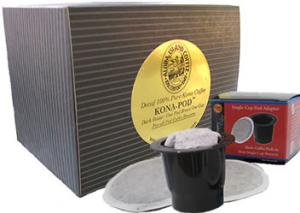 Water Process Decaf Kona Coffee Pods for Keurig K-cup from Aloha Island Coffee