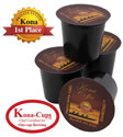 K-cups of 100% Pure Kona Coffee