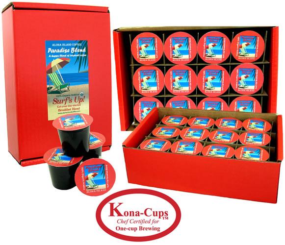 Aloha Hawaii Kona Coffee K Cup