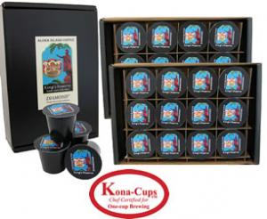 Kings Reserve Diamond Kona Hawaiian Blend K-cups from Aloha Island Coffee
