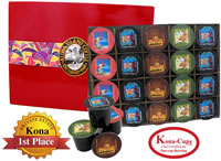 Variety Pack Gift of K-cups from Aloha Island Coffee