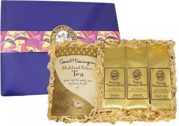 Kona Hawaiian Coffee and Tea Gourmet Gift from Aloha Island Coffee