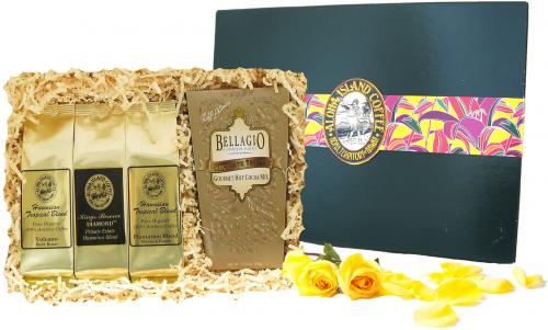 Kona Hawaiian Coffee and Cocoa Best Gift for Christmas and All Occasions