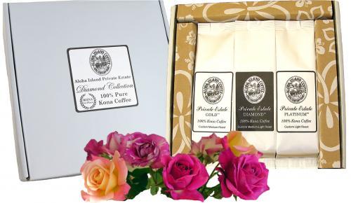 Value Priced Diamond Collection of 100% Pure Kona Coffee