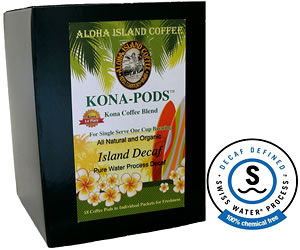 Water Process Decaf from Aloha Island Coffee