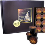 100% Pure Kona Coffee K-cups in Elegant Christmas Gift Box