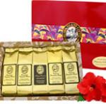 Most Popular Kona Hawaiian Gourmet Coffee Sampler Gift for All Occasions, Brews 60 Cups